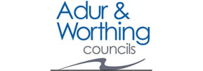 Adur and Worthing Council logo