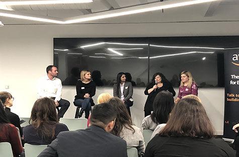 Women in Tech Speak Up panel