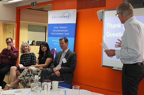 Last year's speakers: Tony Singleton, Julia Beresford Christina Hammond-Aziz and Chris Farthing
