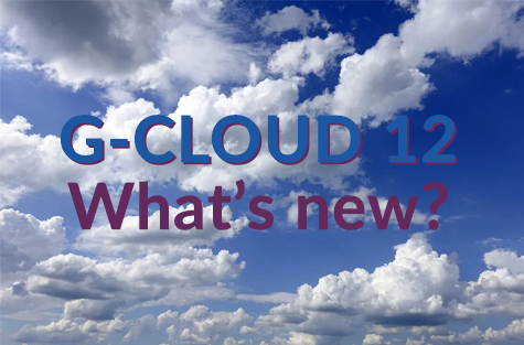 G-Cloud 12 what's new
