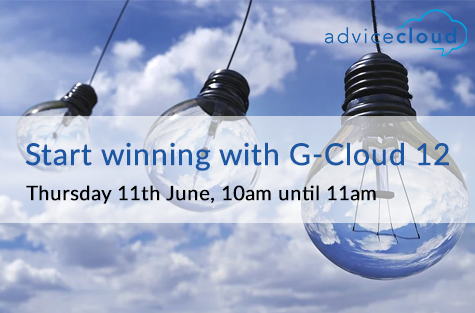 Start winning with G-Cloud 12